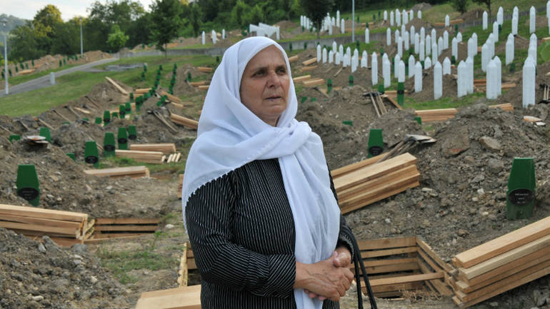 Hatidza Mehmedovic, mother of Srebrenica massacre